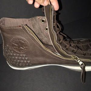 Converse Shoes - Converse John Varvatos Leather Hi Tops
